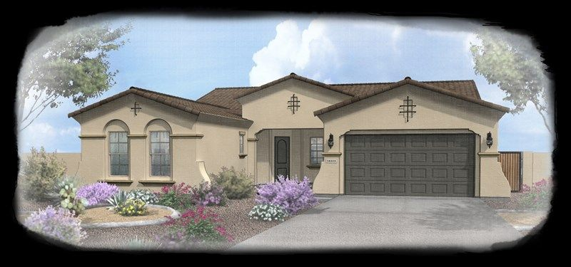 Del Mar - Blackstone at Vistancia: Peoria, AZ - David Weekley Homes