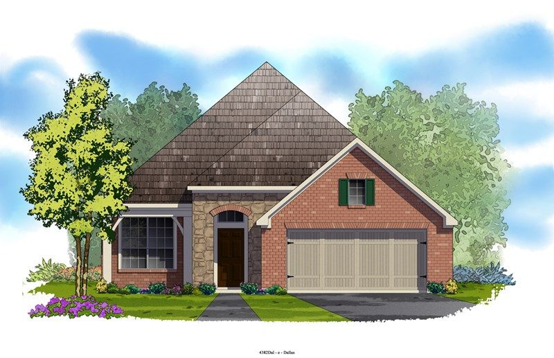 Begonia - Lakes of River Trails: Fort Worth, TX - David Weekley Homes