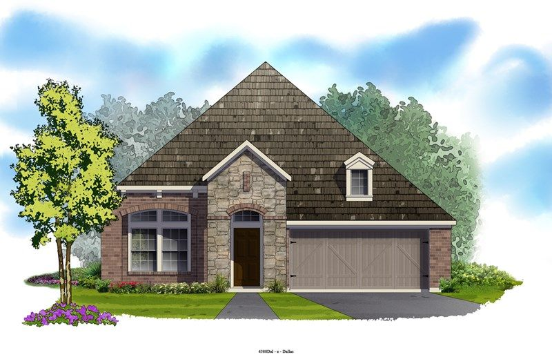 Christa - Lakes of River Trails: Fort Worth, TX - David Weekley Homes