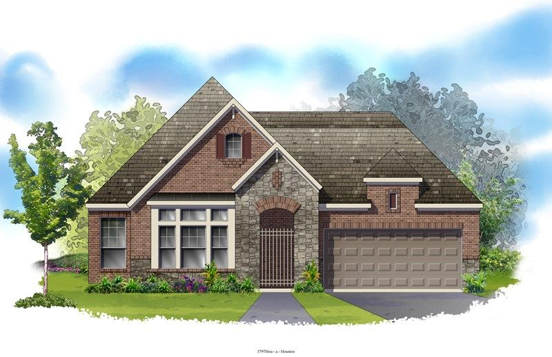 Lainston - Ashfield Gardens 55': Katy, TX - David Weekley Homes