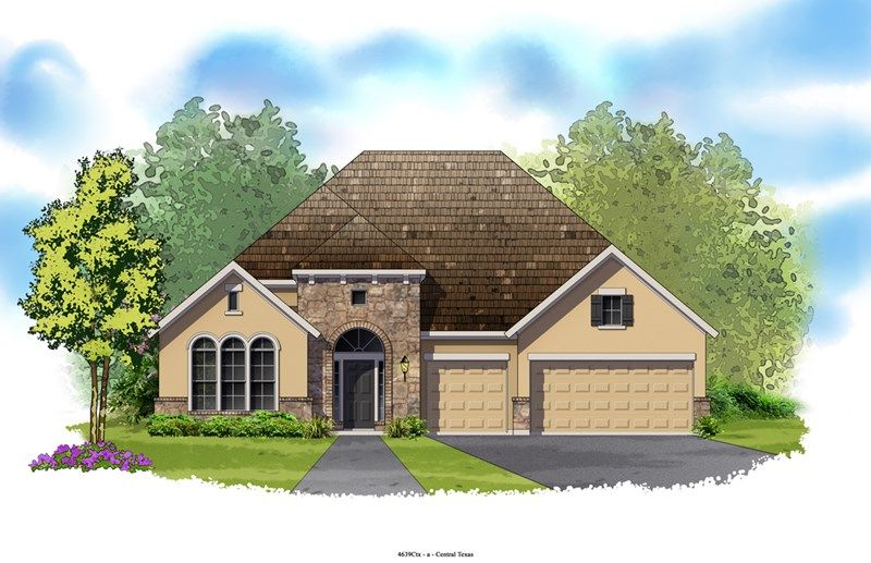 Ketner - Blackhawk - The Park: Pflugerville, TX - David Weekley Homes