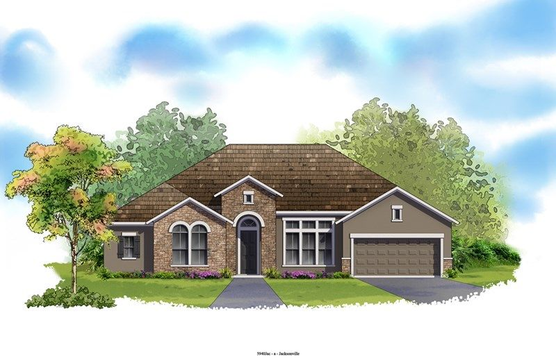 Manotak - Cross Creek: Jacksonville, FL - David Weekley Homes