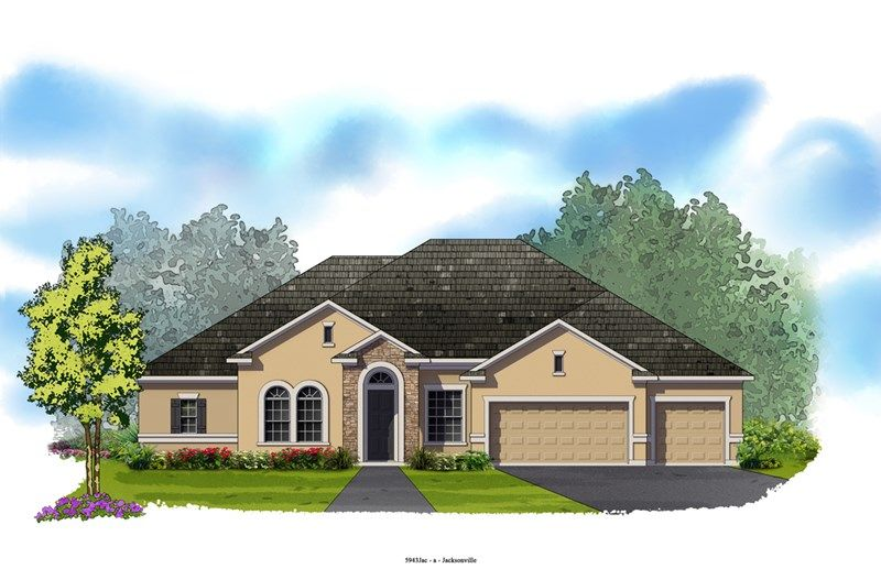 Southfield - Cross Creek: Jacksonville, FL - David Weekley Homes