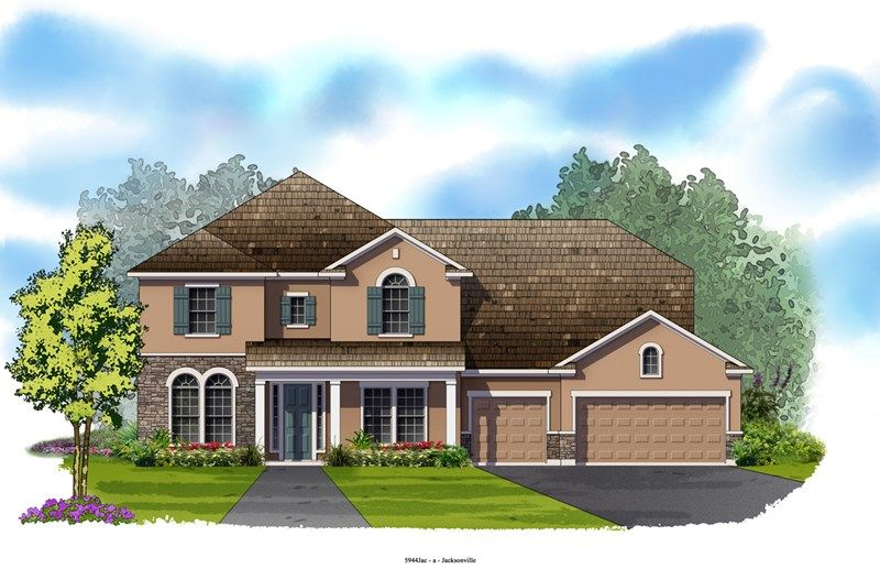 Overlake - Cross Creek: Jacksonville, FL - David Weekley Homes