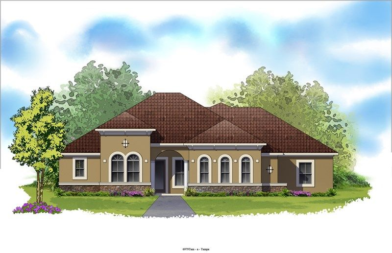 Sunvale - Old Memorial Estates: Tampa, FL - David Weekley Homes