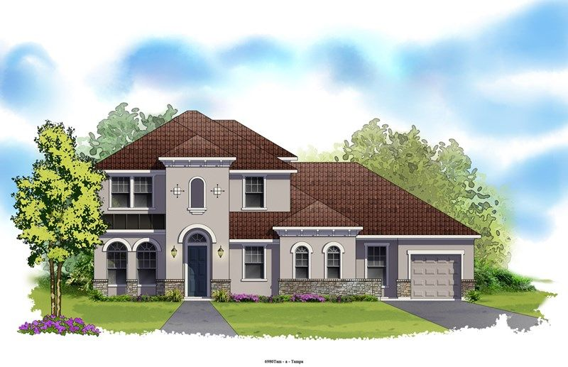 Brindlewood - Old Memorial Estates: Tampa, FL - David Weekley Homes