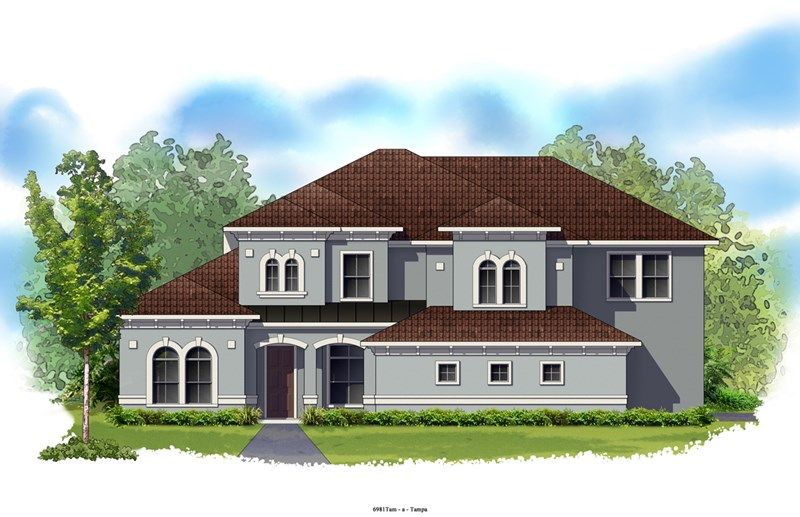 Meadowlake - Old Memorial Estates: Tampa, FL - David Weekley Homes