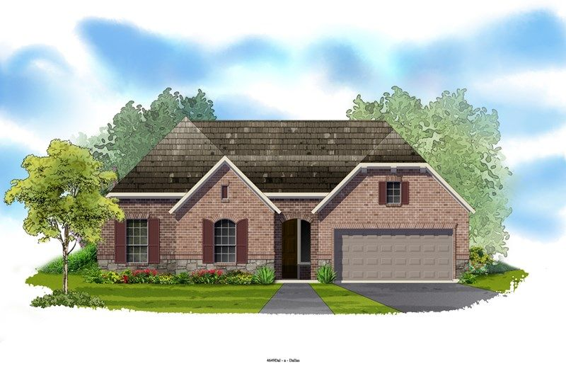 Gholson - Hawthorne Estates: Flower Mound, TX - David Weekley Homes