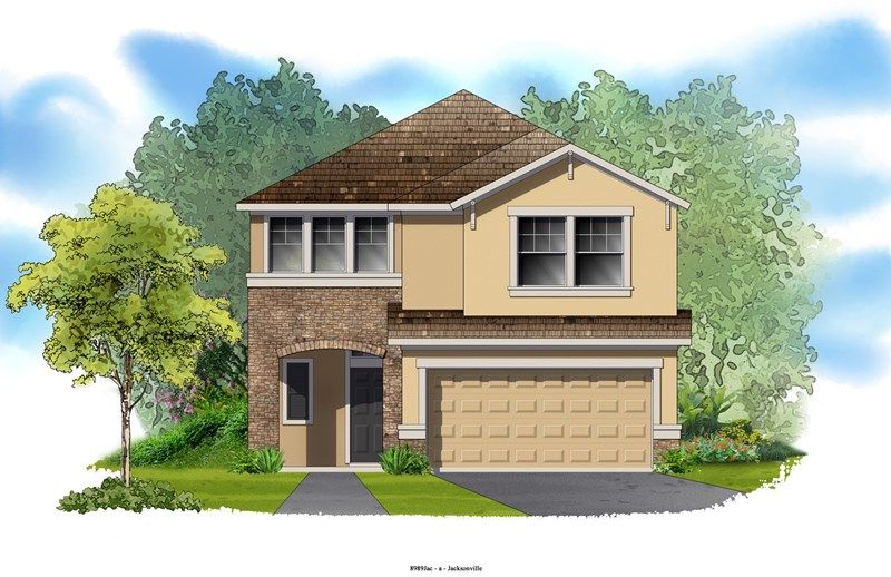 Sandpiper - Durbin Crossing - Village Center: Saint Johns, FL - David Weekley Homes