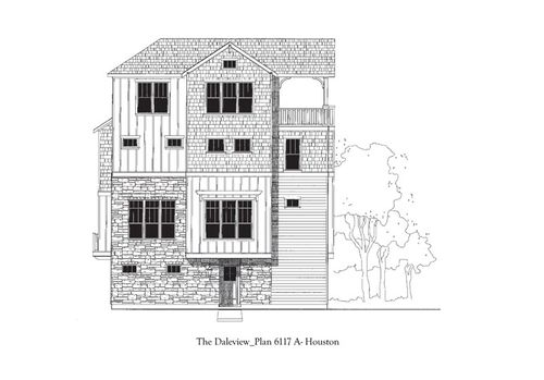 The Heights at Yale by David Weekley Homes in Houston Texas