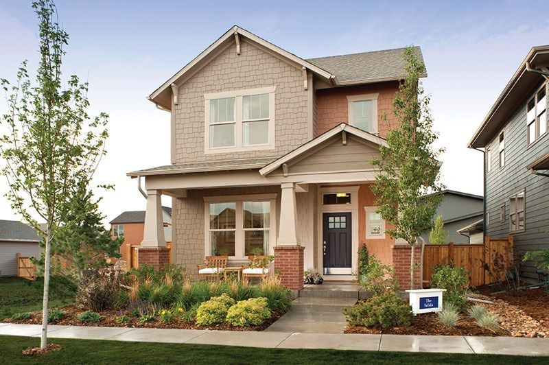 Salida - Stapleton Conservatory Green Cottages: Denver, CO - David Weekley Homes
