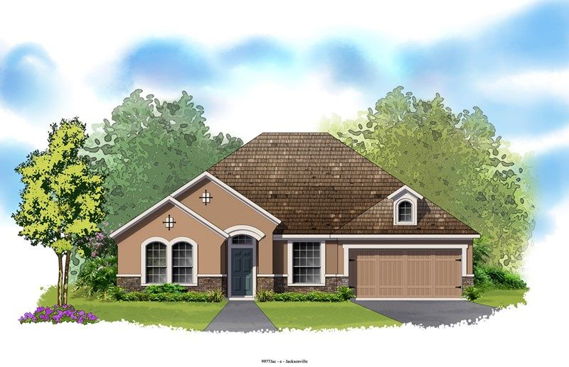 Carberry - Crosswater at Pablo Bay - Classic Series: Jacksonville, FL - David Weekley Homes