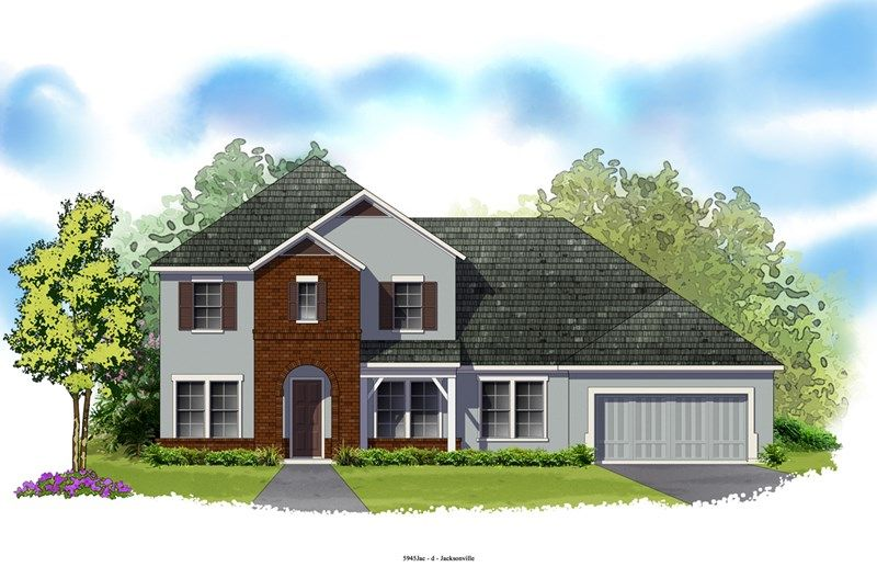 Windward - Oxford Estates: Jacksonville, FL - David Weekley Homes