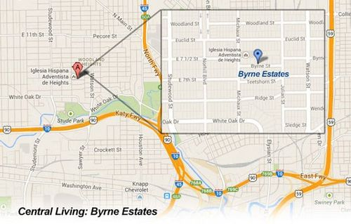 Byrne Estates by David Weekley Homes in Houston Texas