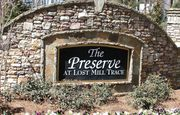 homes in The Preserve at Lost Mill Trace by David Weekley Homes