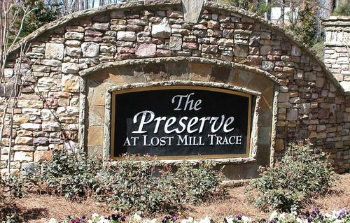 house for sale in The Preserve at Lost Mill     Trace by David Weekley Homes