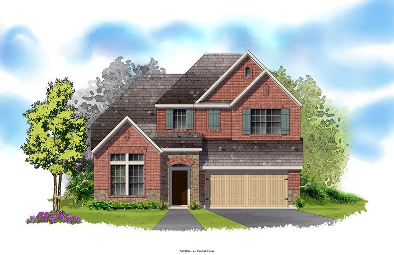 Locke - Northwoods at Avery Ranch: Austin, TX - David Weekley Homes