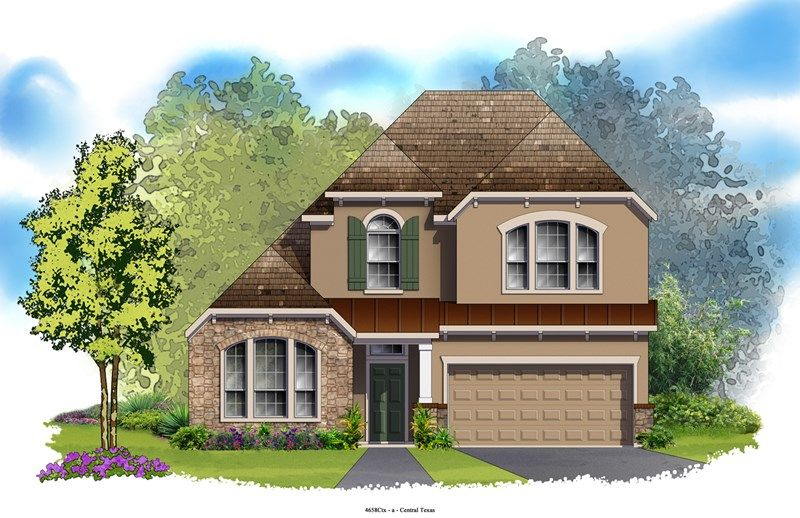 Westgate - Northwoods at Avery Ranch: Austin, TX - David Weekley Homes