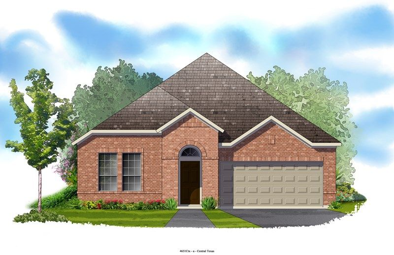 Hillhaven - Northwoods at Avery Ranch: Austin, TX - David Weekley Homes