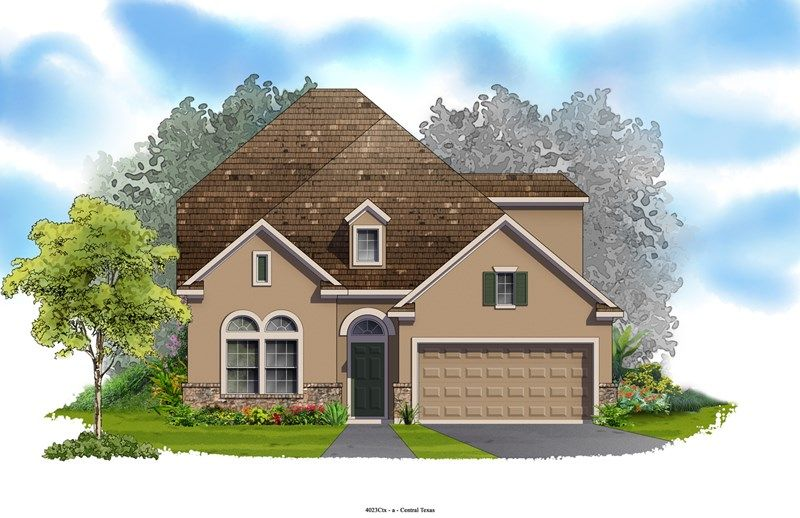 Frye - Northwoods at Avery Ranch: Austin, TX - David Weekley Homes