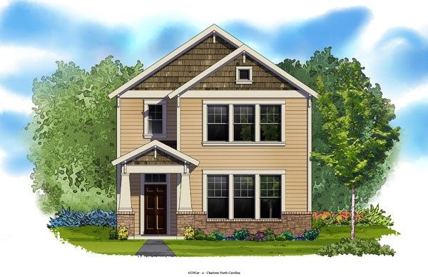 Eastcliffe - Eagle Park Cottage Collection: Belmont, NC - David Weekley Homes