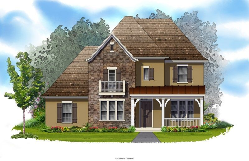 Bridgewater - The Woodlands - Liberty Branch 60' Alley: The Woodlands, TX - David Weekley Homes