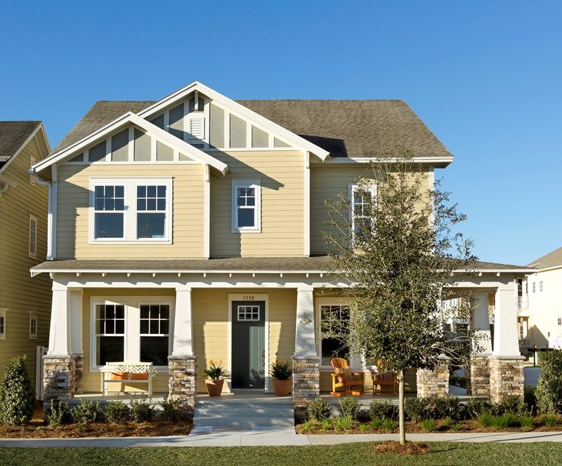 Riddick - Spring Lake at Celebration -  Gardens: Celebration, FL - David Weekley Homes