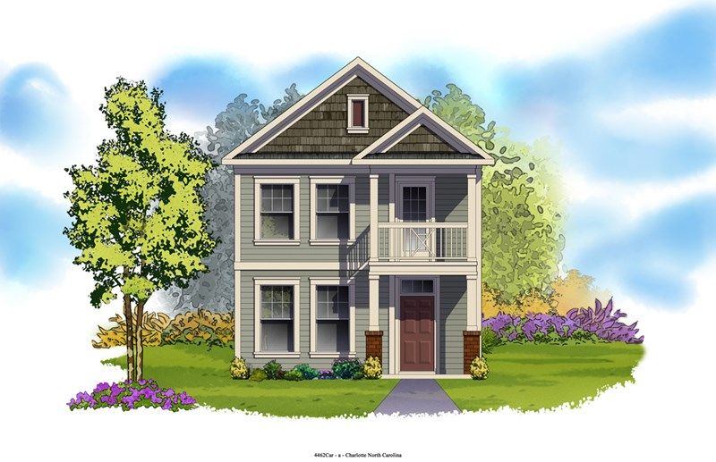 Balsam - Eagle Park Cottage Collection: Belmont, NC - David Weekley Homes