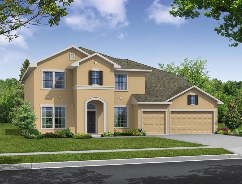 Brooker Reserve Manor Series by David Weekley Homes