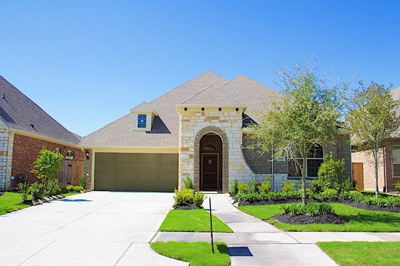 Rochelle - Ashfield Gardens 55': Katy, TX - David Weekley Homes