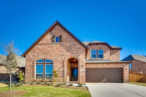 Lakes of River Trails by David Weekley Homes in Fort Worth Texas