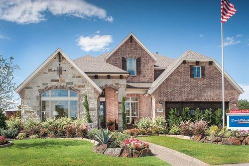 Ridgecrest Estates by David Weekley Homes in Dallas Texas