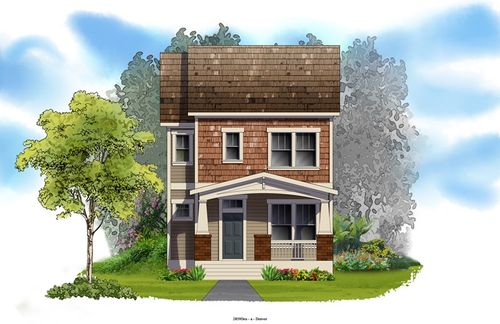 Stapleton Willow Park East - Cottages by David Weekley Homes in Denver Colorado