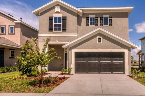 Waterset Garden Series by David Weekley Homes in Tampa-St. Petersburg Florida