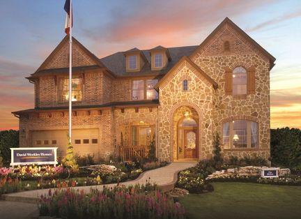 Melton - Rogers Ranch: San Antonio, Texas - David Weekley Homes