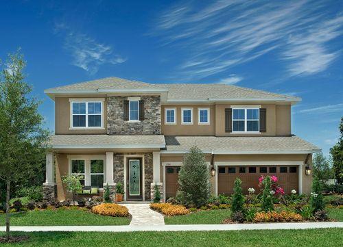 Brooker Reserve Park Series by David Weekley Homes in Tampa-St. Petersburg Florida