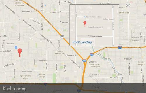 Knoll Landing by David Weekley Homes in Houston Texas