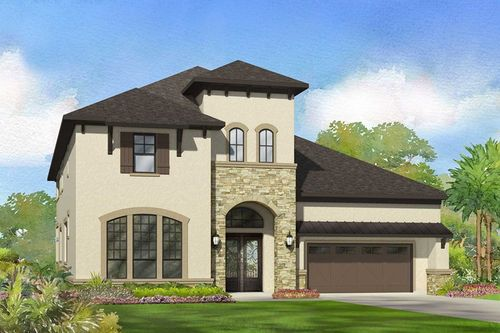 Creek Bend at Lake Pointe by David Weekley Homes in Houston Texas
