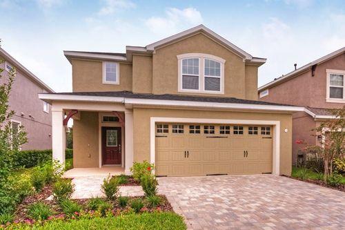 FishHawk Ranch - Cottage Series by David Weekley Homes in Lakeland-Winter Haven Florida