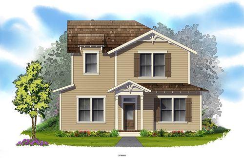 Winter Park Cottage by David Weekley Homes in Orlando Florida
