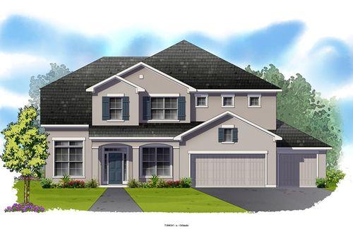 John's Lake Landing Manor by David Weekley Homes in Orlando Florida