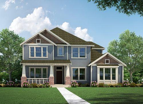 Lakeland Heights Heights Series by David Weekley Homes in Houston Texas