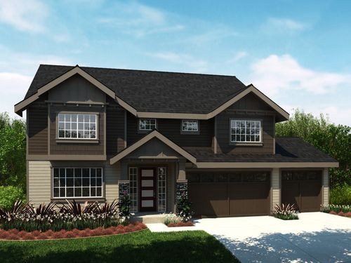 house for sale in Lakeland Hills by DeNova Northwest