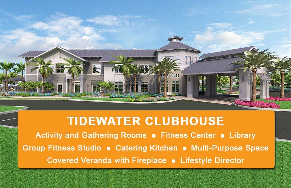 Tidewater by del webb new homes in fort myers fl by del webb for Tidewater homes