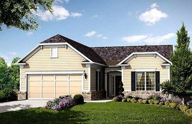 Copper Ridge with Loft - Village at Deaton Creek: Hoschton, GA - Del Webb