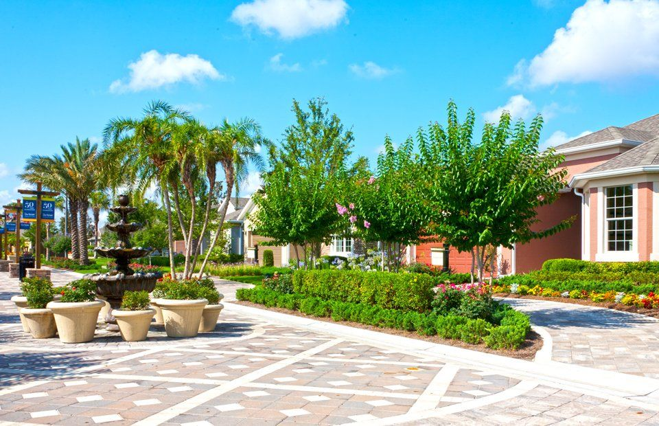55 active adult retirement communities in florida for Landscaping rocks ocala florida