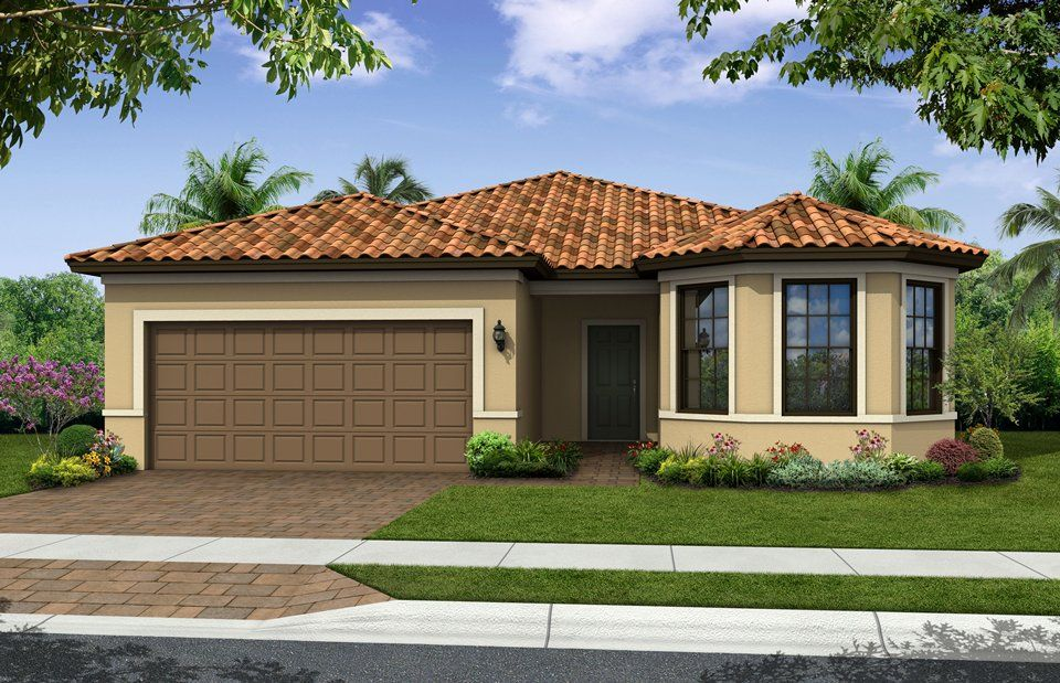 Abbeyville - IslandWalk at the West Villages: Venice, FL - DiVosta Homes