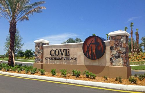 house for sale in Cove at Waterway Village by DiVosta Homes