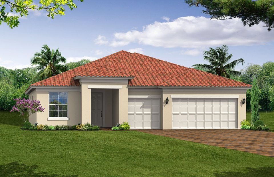 Cambridge - VillageWalk of Bonita Springs: Bonita Springs, FL - DiVosta Homes