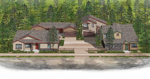 Presidio in the Pines by Doucette Homes in Flagstaff Arizona